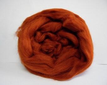Rust Merino wool approx 25g