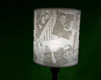Customizable Lithophane Lamps