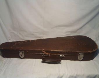 Vintage 1950's Handmade Violin Hard Case
