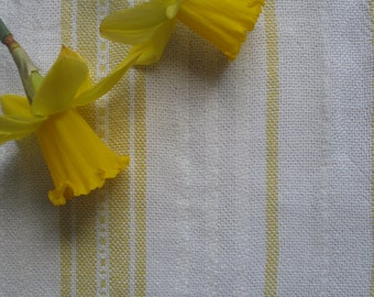 Vintage Swedish Handwovens: Daffodil Stripe