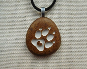 Dog Cat paw Engraved pendant  PUPPY lovers pendant, Dog paw jewelry, Dog paw love gift, Love promise gift