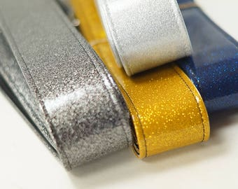 Metallic Sparkle Guitar Strap, Choose Your Color