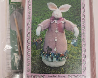 Kit and Pattern for Stand Up Garden Bunny