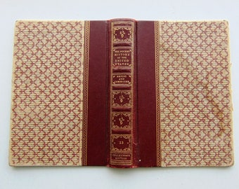 1942 Small Vintage Book Covers And End Papers