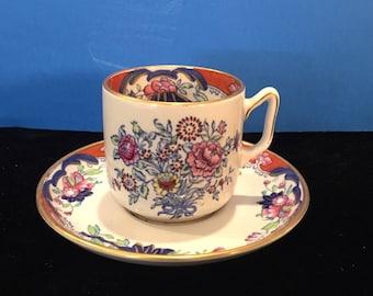 Antique 19th Century Copeland Spode Demitasse Cup & Saucer