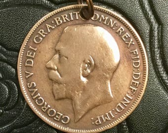 Great Britain Coin Pendant