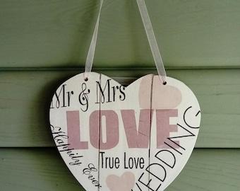 Decorative wedding heart