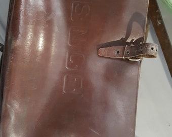 leather satchel sncf