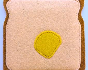 Breakfast coasters- Butter & Toast (1)