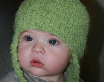 Super Soft Plush Ear Flap Hat multiple colors available