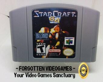 Starcraft 64 - N64 Nintendo 64