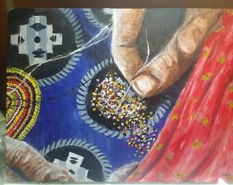Handstrung Beads