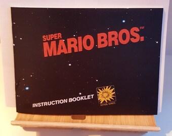 NES Super Mario Bros -  Replacement Manual