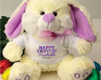 Personalised Purple Easter Bunny Rabbit - BunBun