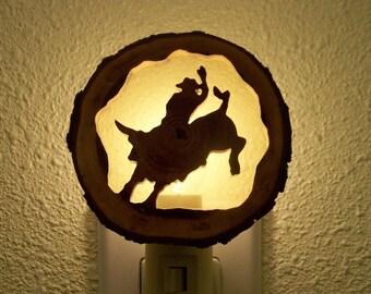 Bullrider nightlight