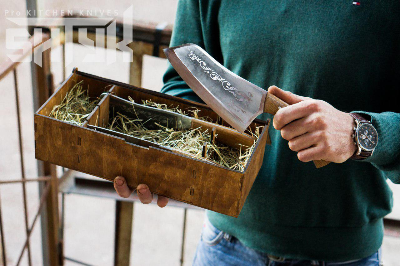 Geschenk-Verpackung-Box für Messer Messer Besteckkasten