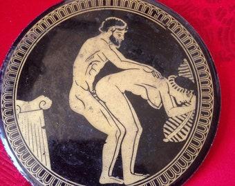 Erotic Rate R Greek Roman Coaster