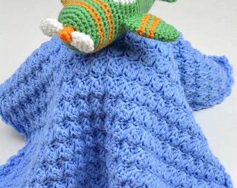 Little Airplane Lovey - PDF Crochet Pattern - Instant Download