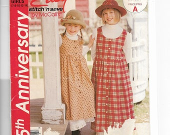 McCall's Girls' Jumper and Petticoat Pattern P227