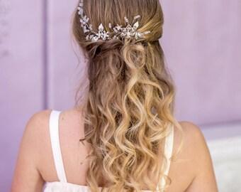 Bridal hair comb Wedding headpiece Bridal hair piece Wedding accessory Bridal headpiece Crystal hair comb Wedding hair comb Decorative combs