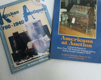 Antique Books, Antiques, Americana, Antique reference books