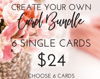 Create Your Own Custom Card Bundle