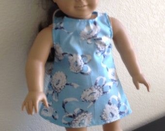 """Dress Made to fit 18"""" Dolls Such as American Girl Item #136"""