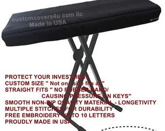 YAMAHA KEYBOARD 69KEYS to 88Keys Custom Fit Dust Cover + Embroidery !