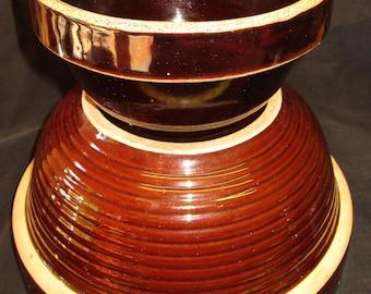 2 Antique Ceramic Bowls