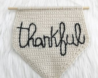 Wall Hanging - Thankful