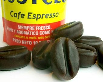 Coffee Bean Scrubs - 4 Pack Scrub Soaps