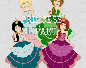 Fairytale Princess Clipart Images - by Graphic Devine