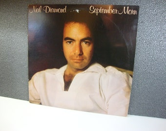 "Vintage Neil Diamond 1979 September Morn 12"" Vinyl LP Coloumbia Records"