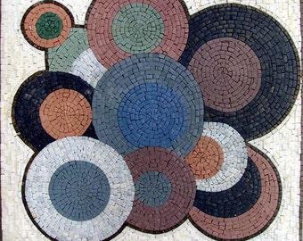 Vinyls Mosaic Abstract Art
