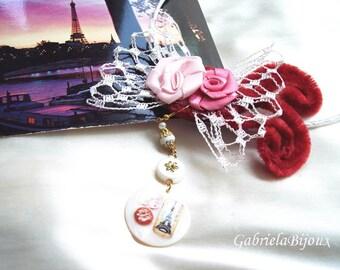 La Belle Epoque Bohemian Lovely Renaissance Necklace Earrings Set