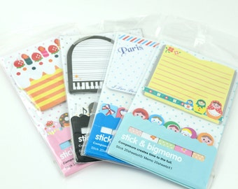 Stick & Big Memo Sticky Notes