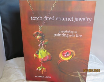Tourch-fired enameled Jewelry  by Barbara Lewis