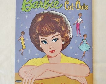 Vintage Barbie Cutouts from 1963