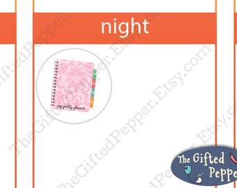 Plan stickers [Printable]. Planning sticker. For Erin Condren Planner. Stickers, printable calendar stickers