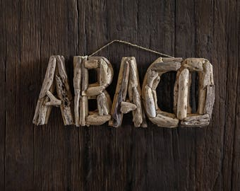 Driftwood Beach Décor AVACO signs by SEASTYLE