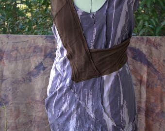Bleached Cold Dyed Festival Wear Boho Hippie Dress