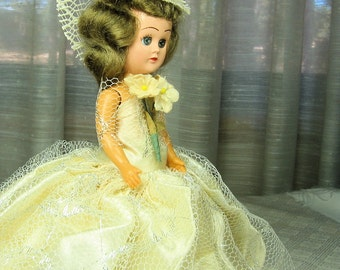 Vintage Wedding Doll