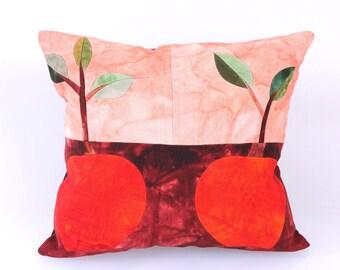 Patchwork,Apple Patterned Pillow, Modern Bohemian, Home Decor,Turkish Kilim, Pillow Cover, Tribal Pillow,Vintage Kilim Pillow, Designed,
