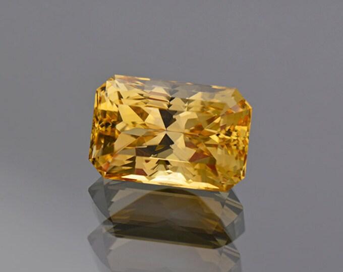 Vibrant Bright Yellow Danburite Gemstone from Madagascar 8.51 cts
