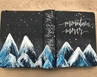 Hand Painted ESV Journaling Bible- Mountain Mover