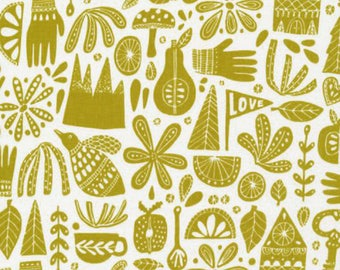Kindred Citron Fabric