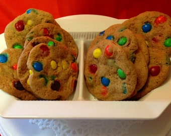 Mrs. C's Vanishing M&M Cookies/ Taste of Heaven/ Deliciously Moist Cookies/ Party Favorites/ Baked with Love/ Candied Cookies/ Baked Goods