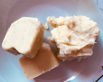 100% PURE butter of Shea butter raw unrefined 100 g