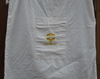 Laundry Bag - Linen - Laundry Decor - Cotton Laundry Bag - Storage