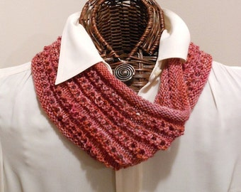 PDF Easy Knitted Eyelet Cowl